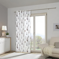 ÖSENVORHANG blickdicht - Weiß, KONVENTIONELL, Textil (135/245cm) - Esposa