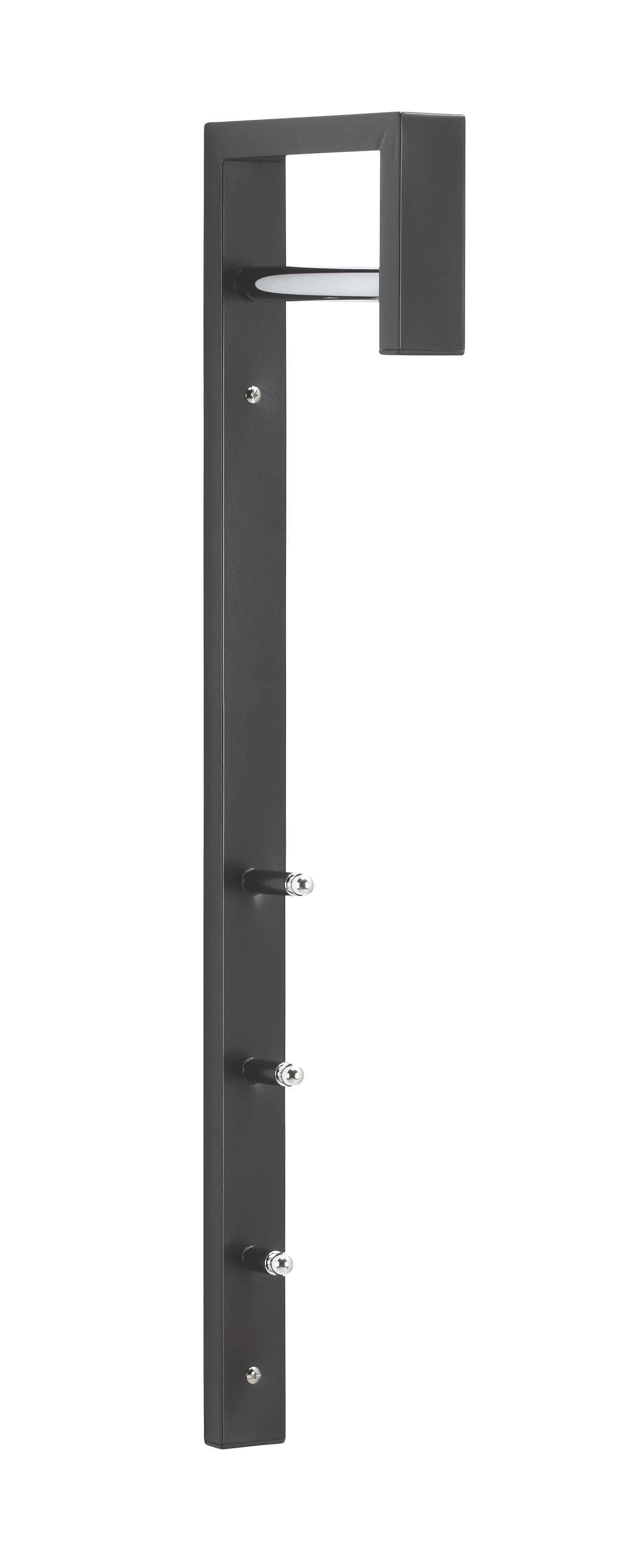 VJEŠALICA - crna, Design, metal (4/70/20cm) - BOXXX