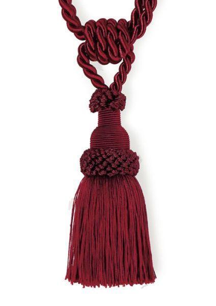 RAFFHALTER  60 cm - Rot, Basics, Textil (60cm)