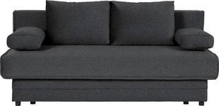 SCHLAFSOFA in Textil Anthrazit  - Anthrazit, Design, Textil (200/90/100cm) - Novel