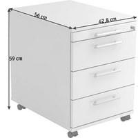 Rollcontainer alu  Rollcontainer & Bürocontainer fürs Home Office kaufen | XXXLutz
