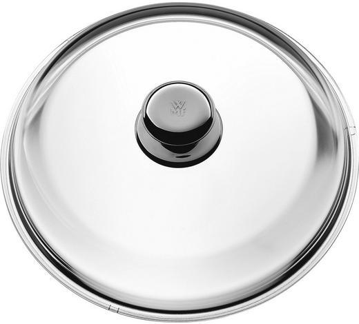 DECKEL - Klar/Edelstahlfarben, Design, Glas/Metall (28cm) - WMF