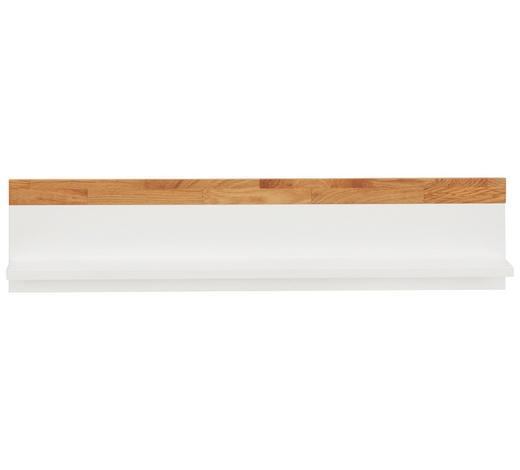 WANDBOARD in 90/20/17 cm Weiß, Eichefarben - Eichefarben/Weiß, Design, Holz/Holzwerkstoff (90/20/17cm) - Jimmylee