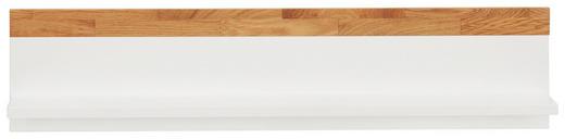 WANDBOARD Scandic Eiche Eichefarben, Weiß - Eichefarben/Weiß, Design, Holz (90/20/17cm) - Jimmylee