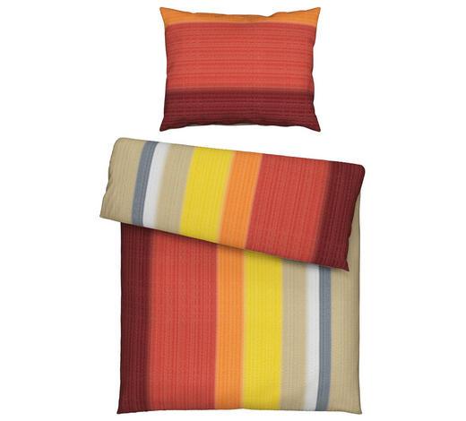 BETTWÄSCHE 140/200 cm - Sandfarben/Goldfarben, Trend, Textil (140/200cm) - Novel