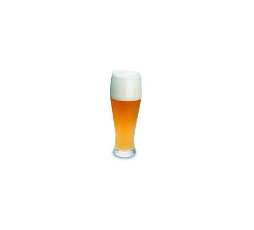 WEIZENBIERGLAS 300 ml - Klar, KONVENTIONELL, Glas (0.3l) - Homeware
