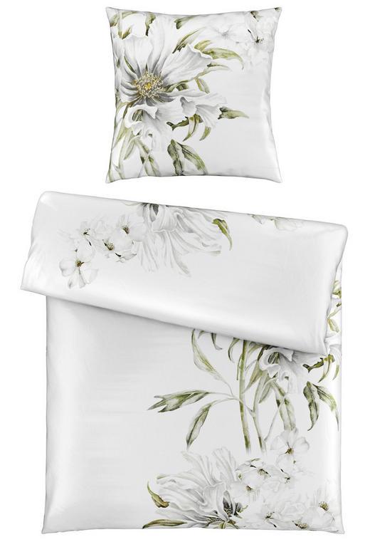 BETTWÄSCHE Satin Weiß 135/200 cm - Weiß, LIFESTYLE, Textil (135/200cm) - Esposa