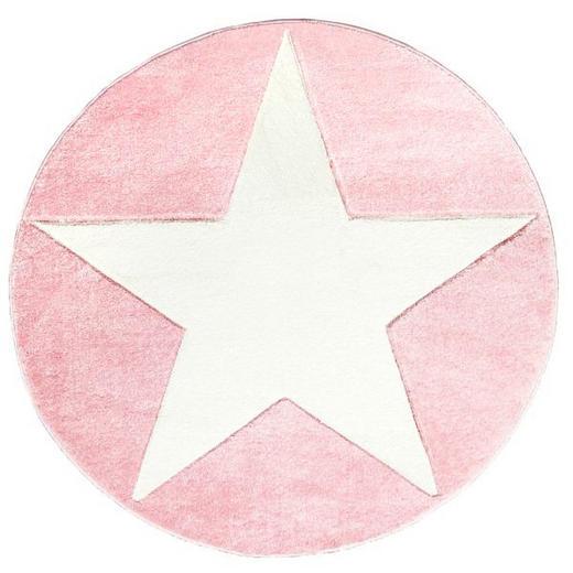 KINDERTEPPICH   Rosa, Weiß - Rosa/Weiß, Basics, Textil (160cm)