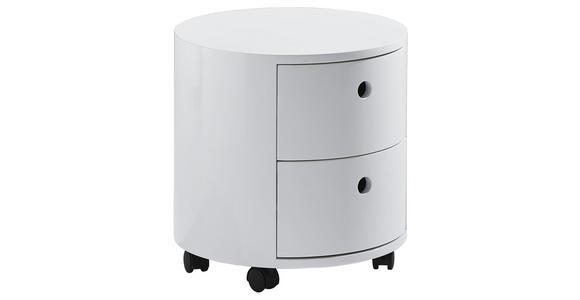 KOMMODE  - Weiß, Design, Holzwerkstoff/Kunststoff (40/41cm) - Xora
