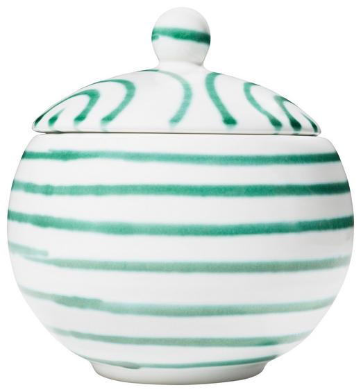 ZUCKERDOSE - Grün, LIFESTYLE, Keramik (11/11,5/11cm) - Gmundner