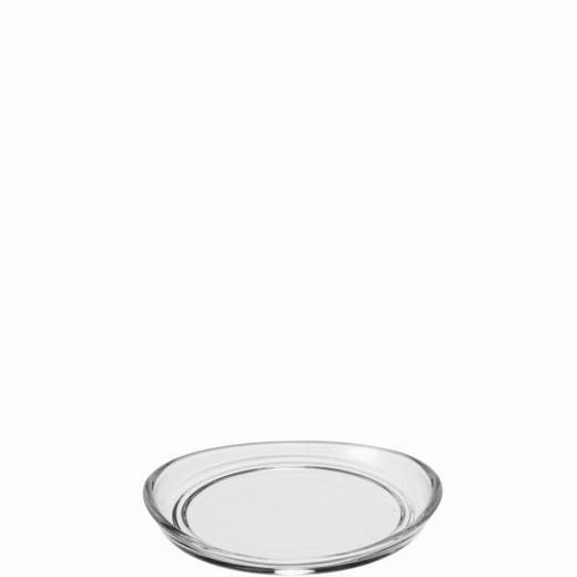 GLASUNTERSETZER Glas Transparent - Transparent, Basics, Glas (10,5/1,5/10cm) - Leonardo