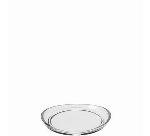 GLASUNTERSETZER - Transparent, Basics, Glas (10,5/1,5/10cm) - Leonardo