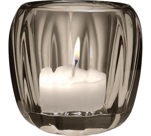 TEELICHTGLAS - Dunkelgrau, Design, Glas (7cm) - Villeroy & Boch