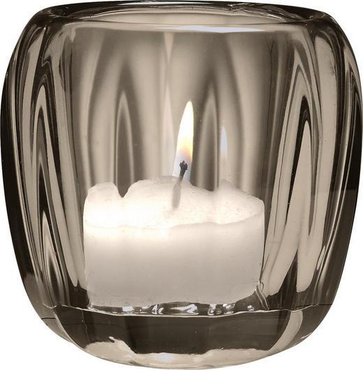 TEELICHTHALTER - Dunkelgrau, Design, Glas (7//cm) - Villeroy & Boch