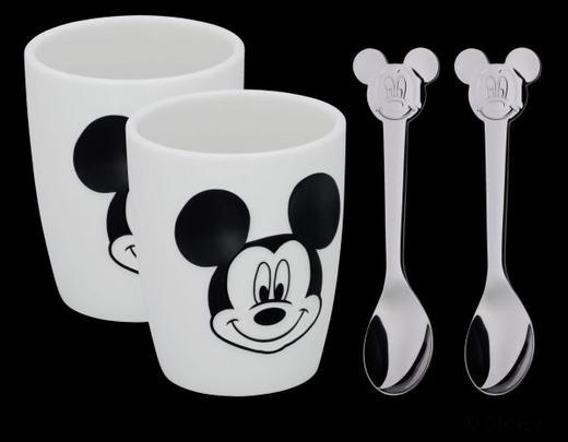 KINDERGESCHIRRSET Porzellan 4-teilig - Multicolor, Basics, Keramik/Metall - WMF