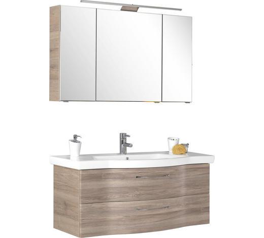 KOUPELNA, barvy dubu - barvy dubu, Design, kompozitní dřevo (122cm) - Sadena