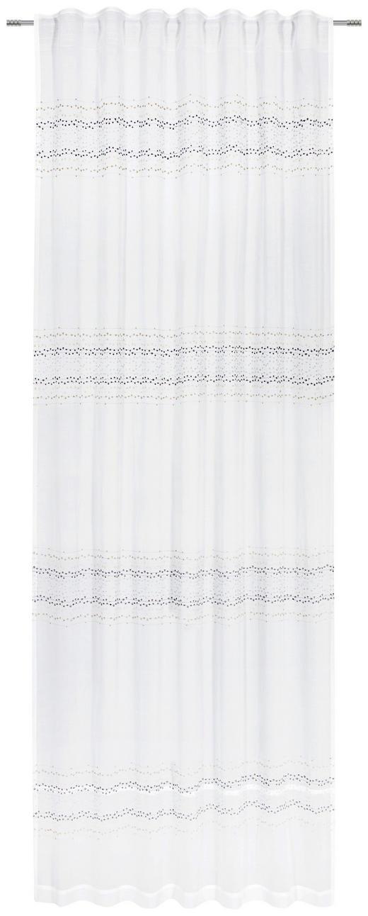 FERTIGVORHANG  blickdicht   140/250 cm - Weiß, MODERN, Textil (140/250cm) - Esposa