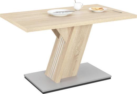 ESSTISCH rechteckig Eichefarben - Eichefarben, KONVENTIONELL, Holzwerkstoff (138/90/76cm) - Xora