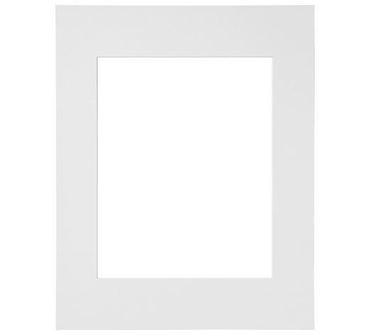 PASSEPARTOUT  Weiß  - Weiß, Basics, Papier (40/50cm) - Nielsen