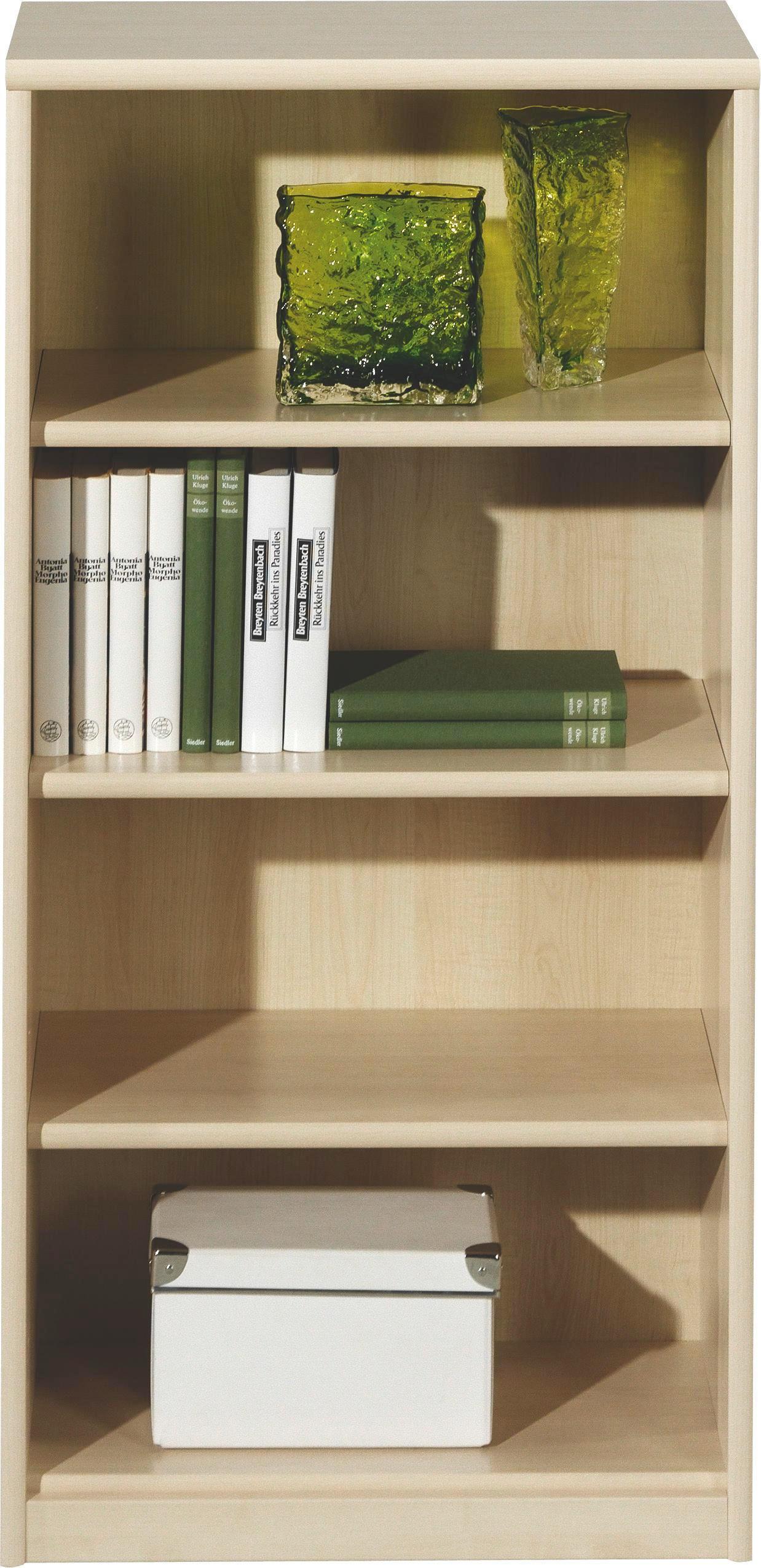 REGAL Ahornfarben - Ahornfarben, Design, Holzwerkstoff (55/110/36cm) - CS SCHMAL