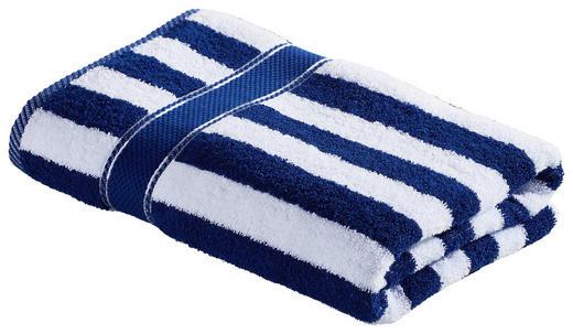 DUSCHTUCH 70/140 cm - Blau/Weiß, KONVENTIONELL, Textil (70/140cm) - Esposa