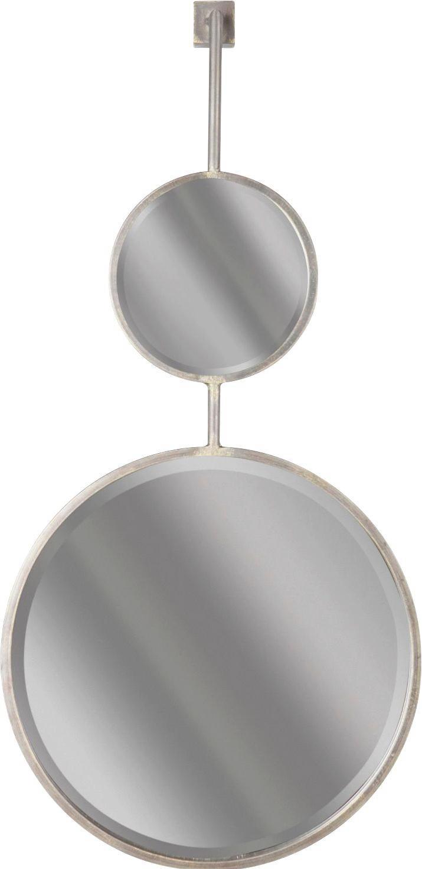 SPIEGEL - Schwarz, Design, Glas/Metall (46/112/10cm) - Ambia Home