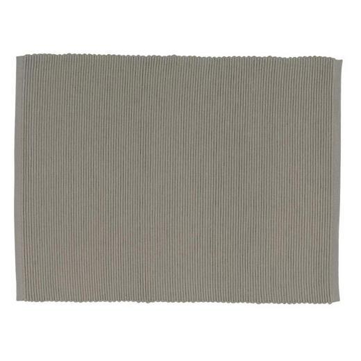 TISCHSET - Taupe, Design, Textil (35/46cm) - Linum