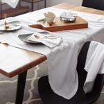 TISCHLÄUFER 40/140 cm   - Weiß, Basics, Textil (40/140cm) - Esposa