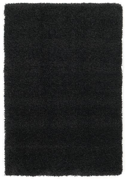 HOCHFLORTEPPICH  120/170 cm  gewebt  Schwarz - Schwarz, Basics, Textil (120/170cm) - Novel