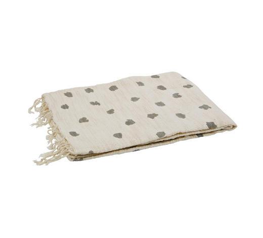 PLAID 130/170 cm Grau, Beige  - Beige/Grau, Natur, Textil (130/170cm)