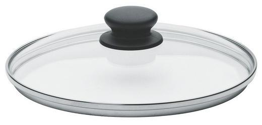DECKEL  22 cm - Klar, Basics, Glas (22cm) - FISSLER