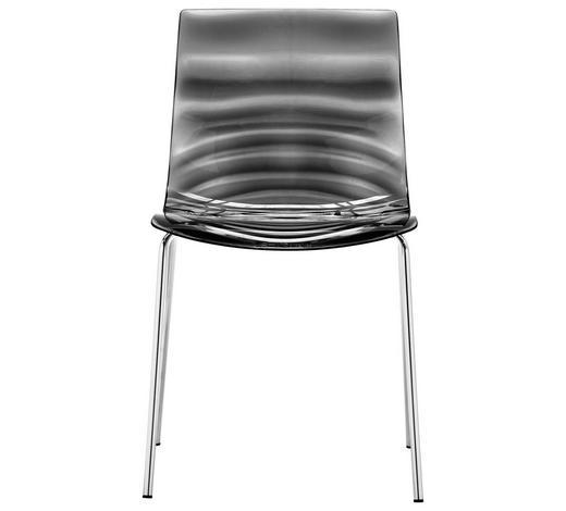 STUHL in Kunststoff Grau - Grau, Trend, Kunststoff/Metall (47,5/80/55cm)