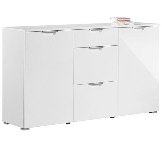 KOMMODE 144/85/40 cm - Alufarben/Weiß, Design, Holz/Holzwerkstoff (144/85/40cm) - Xora