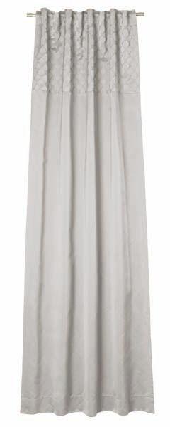 VORHANGSCHAL  blickdicht   130/250 cm - Silberfarben, Textil (130/250cm) - JOOP!