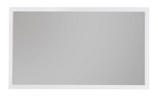 WANDSPIEGEL - Weiß, Design, Glas/Holzwerkstoff (96/56/3,5cm) - Voleo