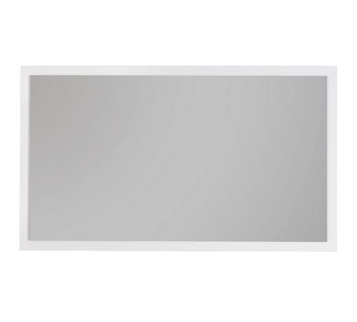 WANDSPIEGEL 96/56/3,5 cm - Weiß, Design, Glas/Holzwerkstoff (96/56/3,5cm) - Voleo