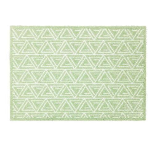 FUßMATTE 67/100 cm - Mintgrün, KONVENTIONELL, Textil (67/100cm) - Schöner Wohnen