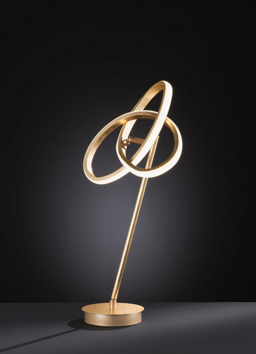 LED-TISCHLEUCHTE - Goldfarben, MODERN, Metall (23/40/23cm) - Wofi