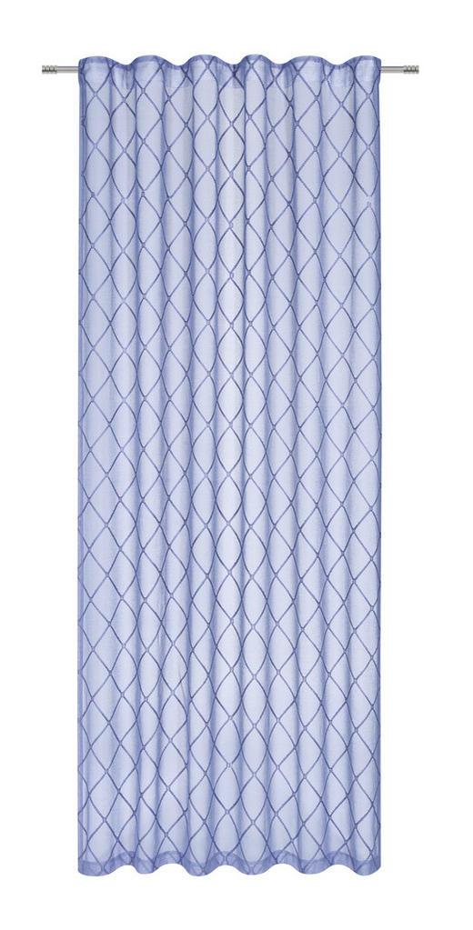 FERTIGVORHANG  halbtransparent  140/245 cm - Blau, Design, Textil (140/245cm) - Esposa