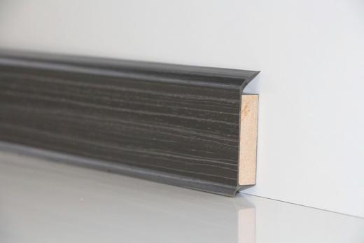 SOCKELLEISTE - Schwarz/Braun, Basics (250/6/1,3cm) - Venda
