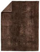 FELLDECKE 150/200 cm Braun - Braun, KONVENTIONELL, Textil (150/200cm) - Novel
