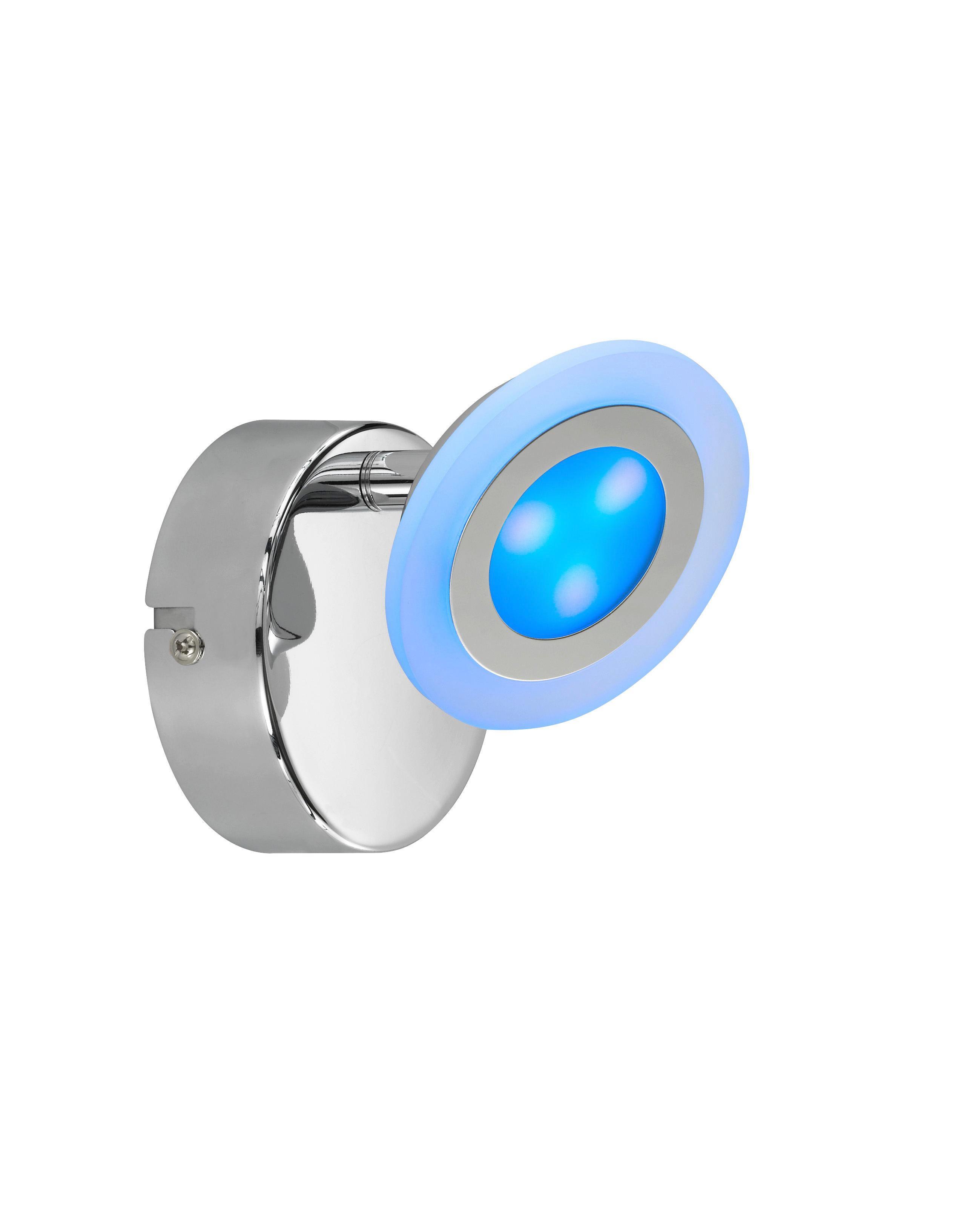 LED-STRAHLER - Design, Kunststoff/Metall (9/8/9cm)