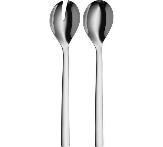 SALATBESTECK - Edelstahlfarben, Design, Metall (30cm) - WMF