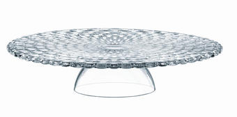 KROŽNIK ZA TORTO - prozorna, Konvencionalno, steklo (32cm) - Nachtmann