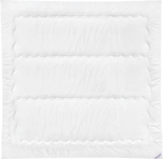 EINZIEHDECKE 200/200 cm - Weiß, Basics, Textil (200/200cm) - Sleeptex