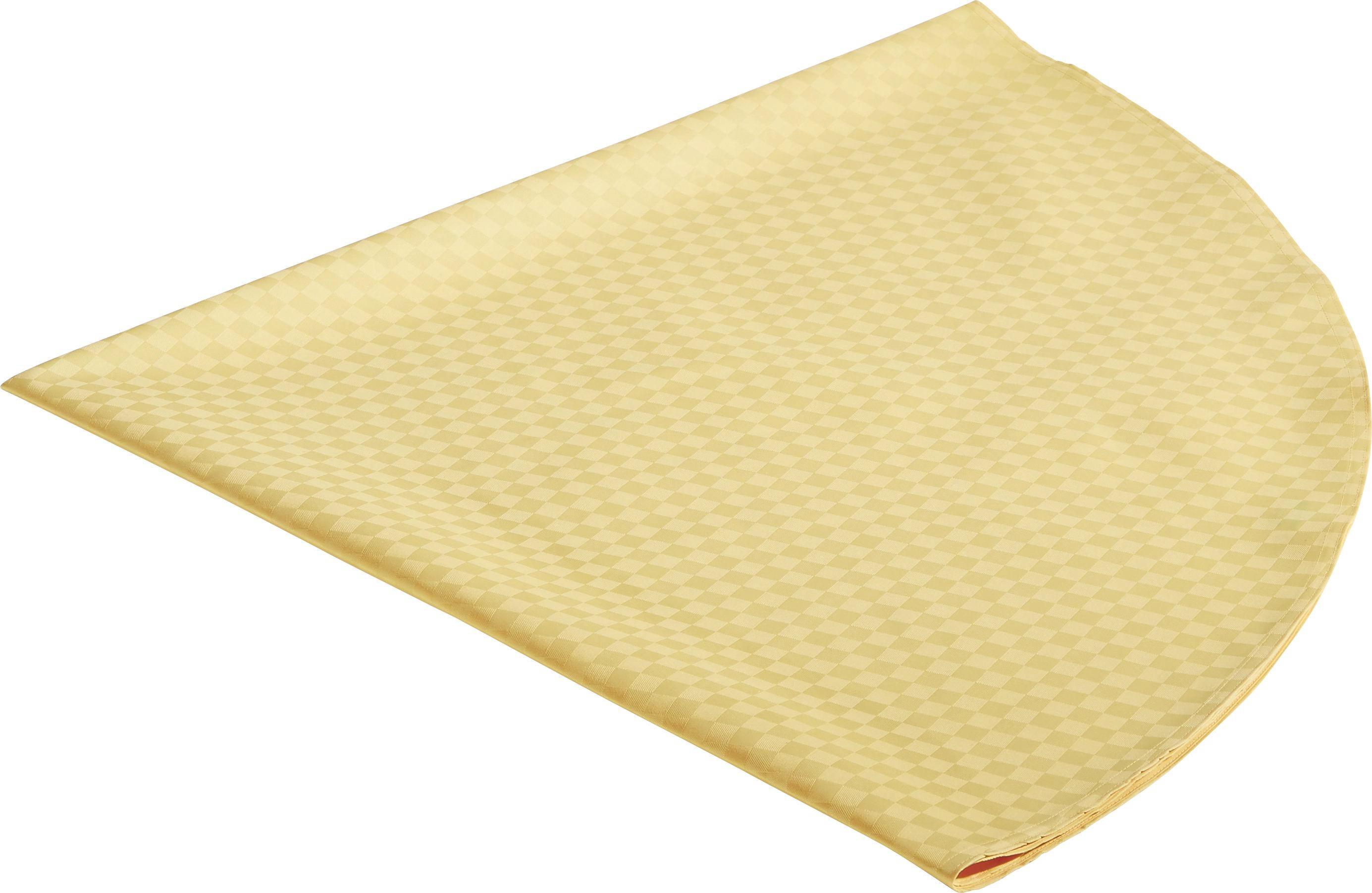 TISCHDECKE Textil Gelb 170 cm - Gelb, Basics, Textil (170cm)