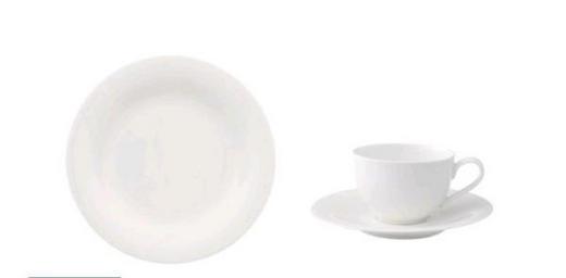 SERVIS ZA KAVU - bijela, Design, keramika (7kg)