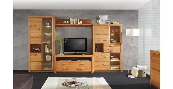 SIDEBOARD 163/88/44 cm  - Buchefarben/Alufarben, KONVENTIONELL, Holz/Kunststoff (163/88/44cm) - Cantus