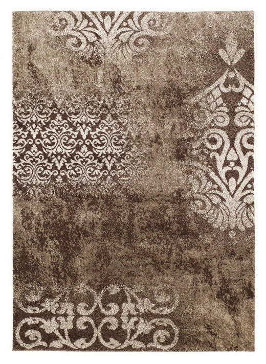 WEBTEPPICH  65/130 cm  Braun - Braun, Basics, Textil (65/130cm) - Novel