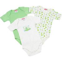 BABYBODY-SET - Grün, Basics, Textil (74-80) - MY BABY LOU